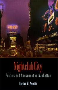 Cover of Burton Peretti's Nightclub City