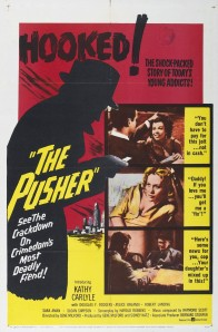 Poster for the film The Pusher