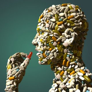 Person Made of Pills