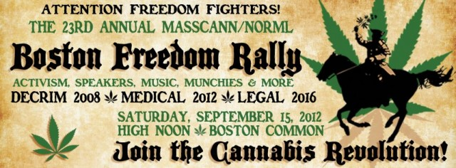 Freedom rally poster