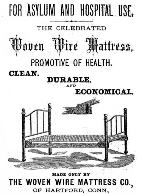 "Today's problem of securing ""detox beds"" was a quite literal one for the managers of the inebriate asylums springing up in the postbellum U.S."