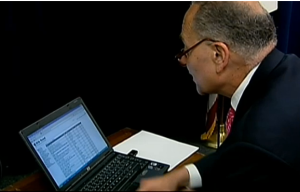 Chuck Schumer browsing Silk Road.