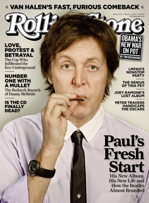 "McCartney ""matures out"""
