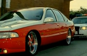 1996 Chevy Impala SS, the car in which we shall not ride dirty