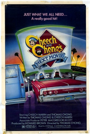 Cheech and Chong's Next Movie Ad, 1980. Submitted to Congress during 1985 subcommittee hearings (via Wikipedia)