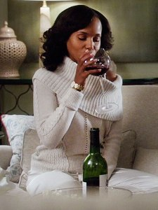 Olivia Pope (Kerry Washington) on Scandal