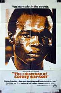 Sonny carson. movie poster.
