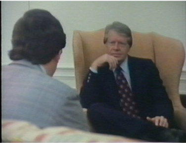 Peter Bourne, Director of the Office of Drug Abuse Policy and President Jimmy Carter in conversation The Opium Series Part Three, The Politicians