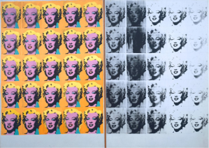 """Marilyn Diptych,"" Andy Warhol (Tate Gallery)"