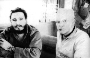 James B. Donovan and Fidel Castro, Bay of Pigs, April 1963 (photo by John B. Donovan, www.jamesbdonovan.com)